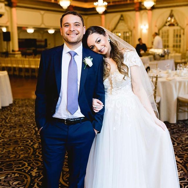 @adenajudith & her #MCM 🤵🏻👰🏻💘 . . . . . #marriagegoals #wedding #makeup #bride #bridal #motd #hotd #hairextensions #nycmakeup #njwedding #theknot #beautyblog #beautybloggers #makeuplook #hairideas #weddinginspo #hairoftheday #insta #instagood #instawedding #bridalhairstyle #makeupinspo #weddingphotography #njweddingphotographer #brideandgroom #goals #engaged #weddingday #instagram