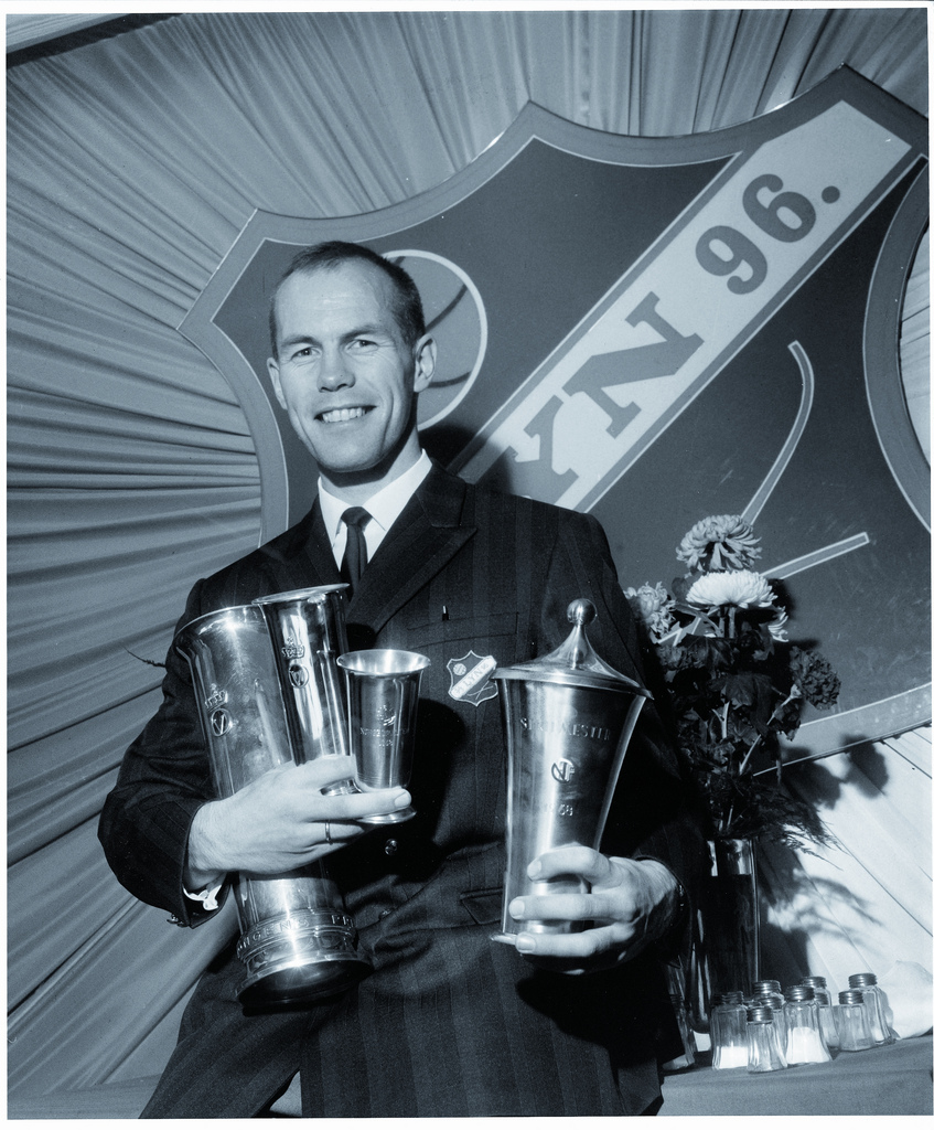 Andreas Morisbak var sentral under storhetstiden på 60-tallet.