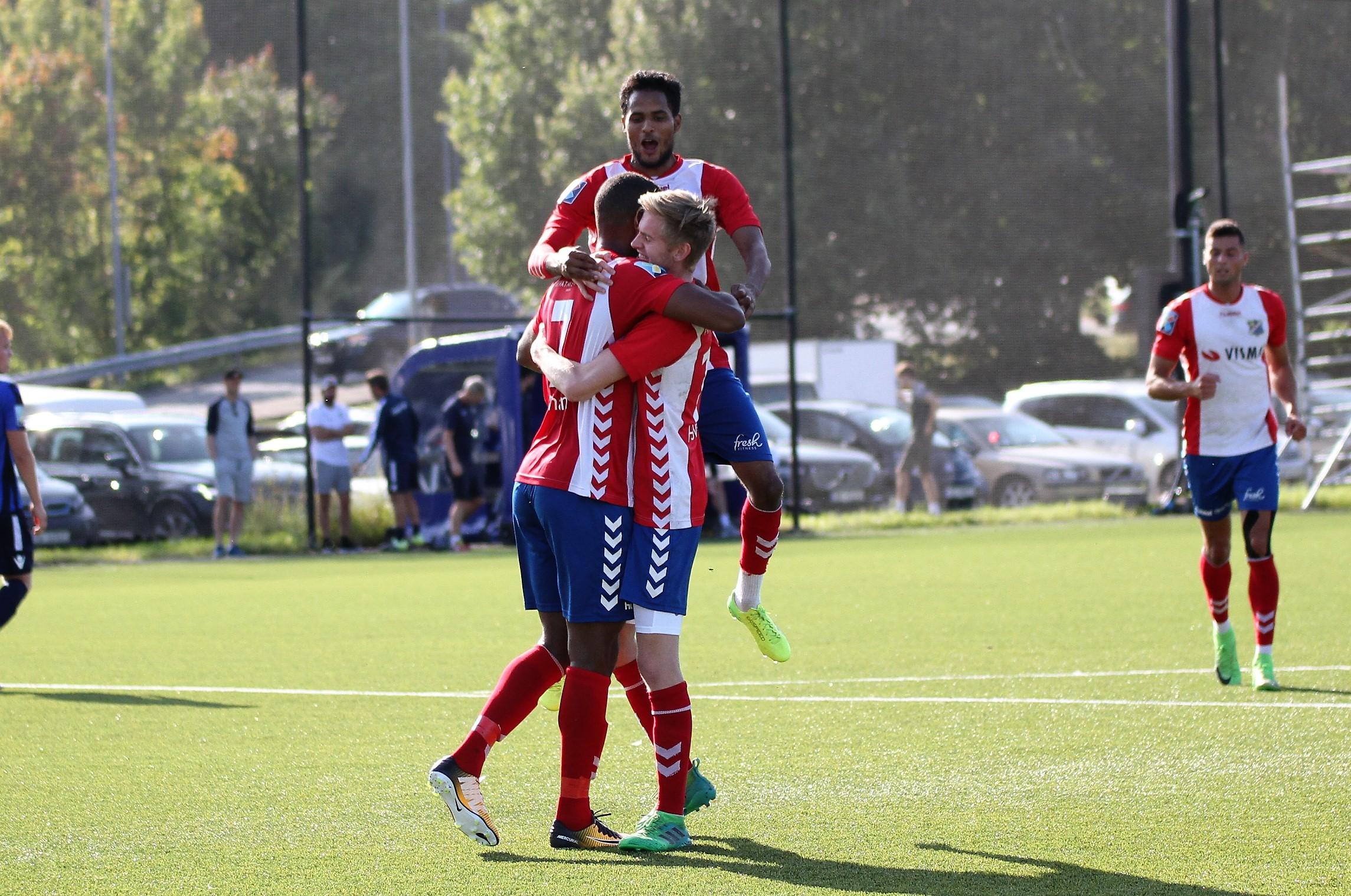 Markus Cham scoret kampens eneste mål på straffe