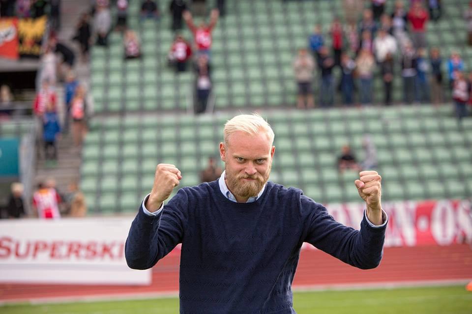 Jonas Rygg, her som Lyn-trener (foto: BillyBonkers)