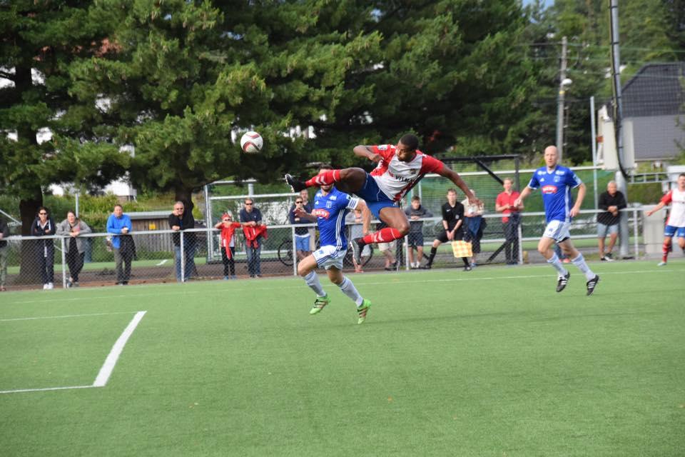 Markus Cham scoret for rekruttene (foto: Lyn Fotball, arkiv)