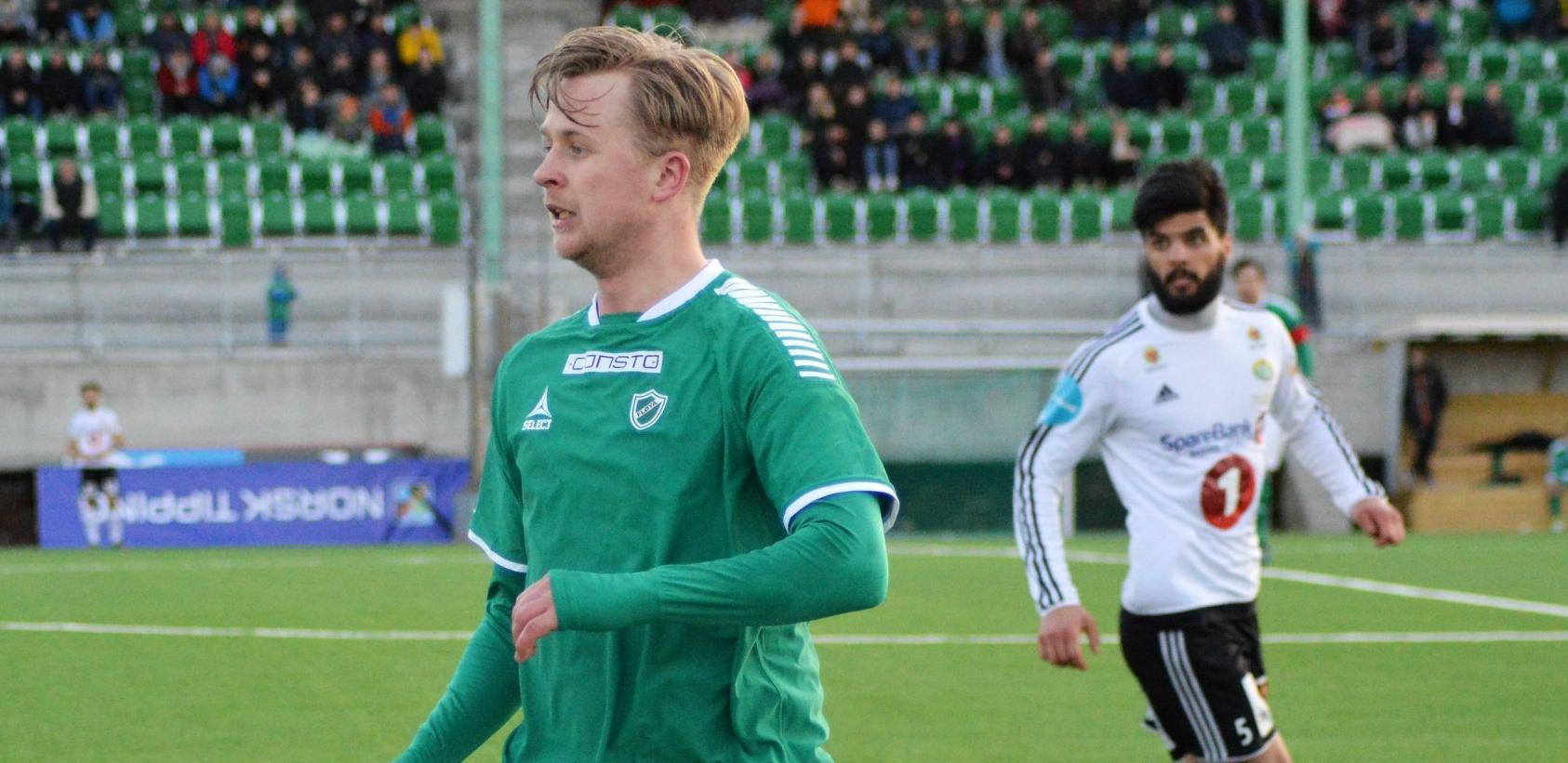 Fredrik Riise Allertsen klar for Lyn. Foto: IF Fløya