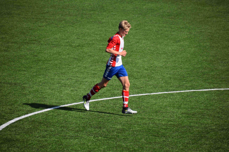 Mikkel skal nok en gang representere landslaget. Arkivfoto