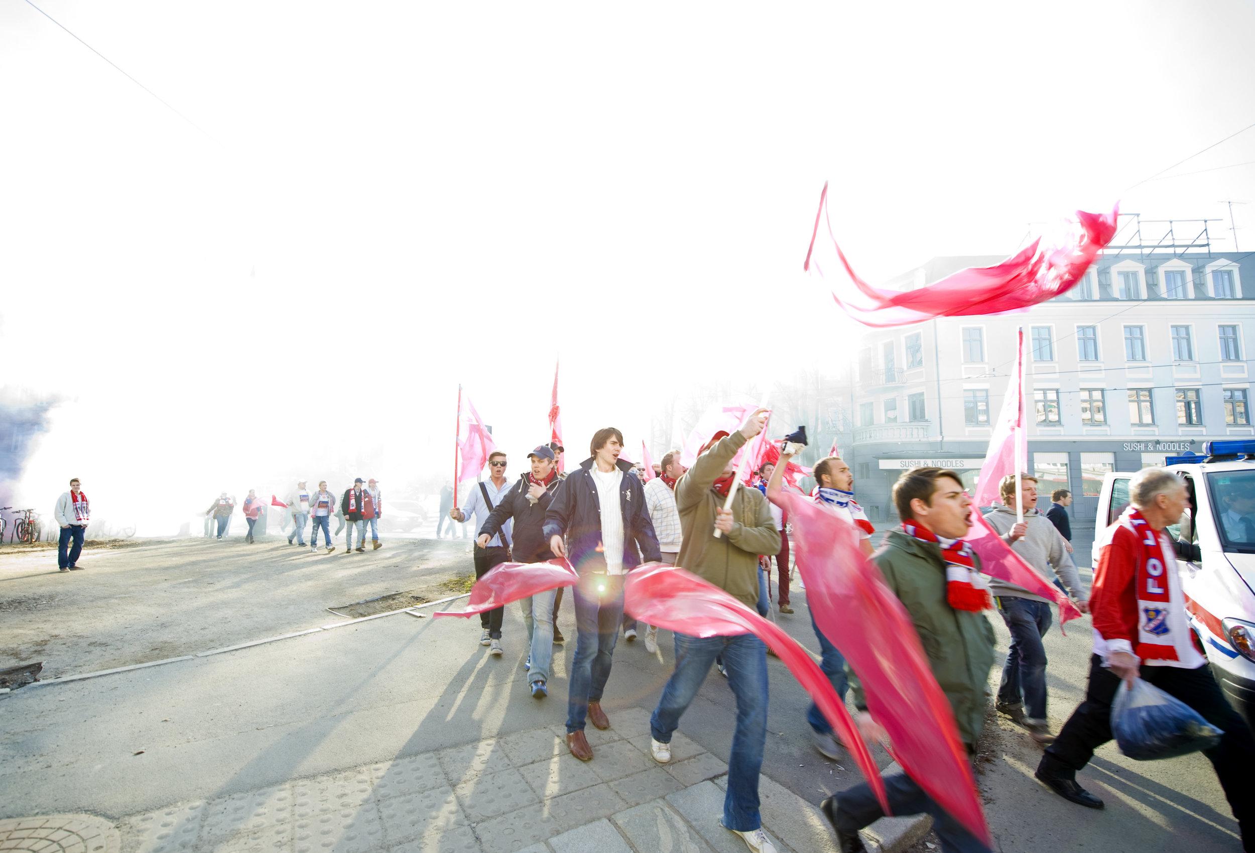 Bastionen arrangerer kick-off før sesongstart neste helg. Her fra serieåpningen mot Nybergsund-Trysil tilbake i 2010. Foto: Lars Opstad