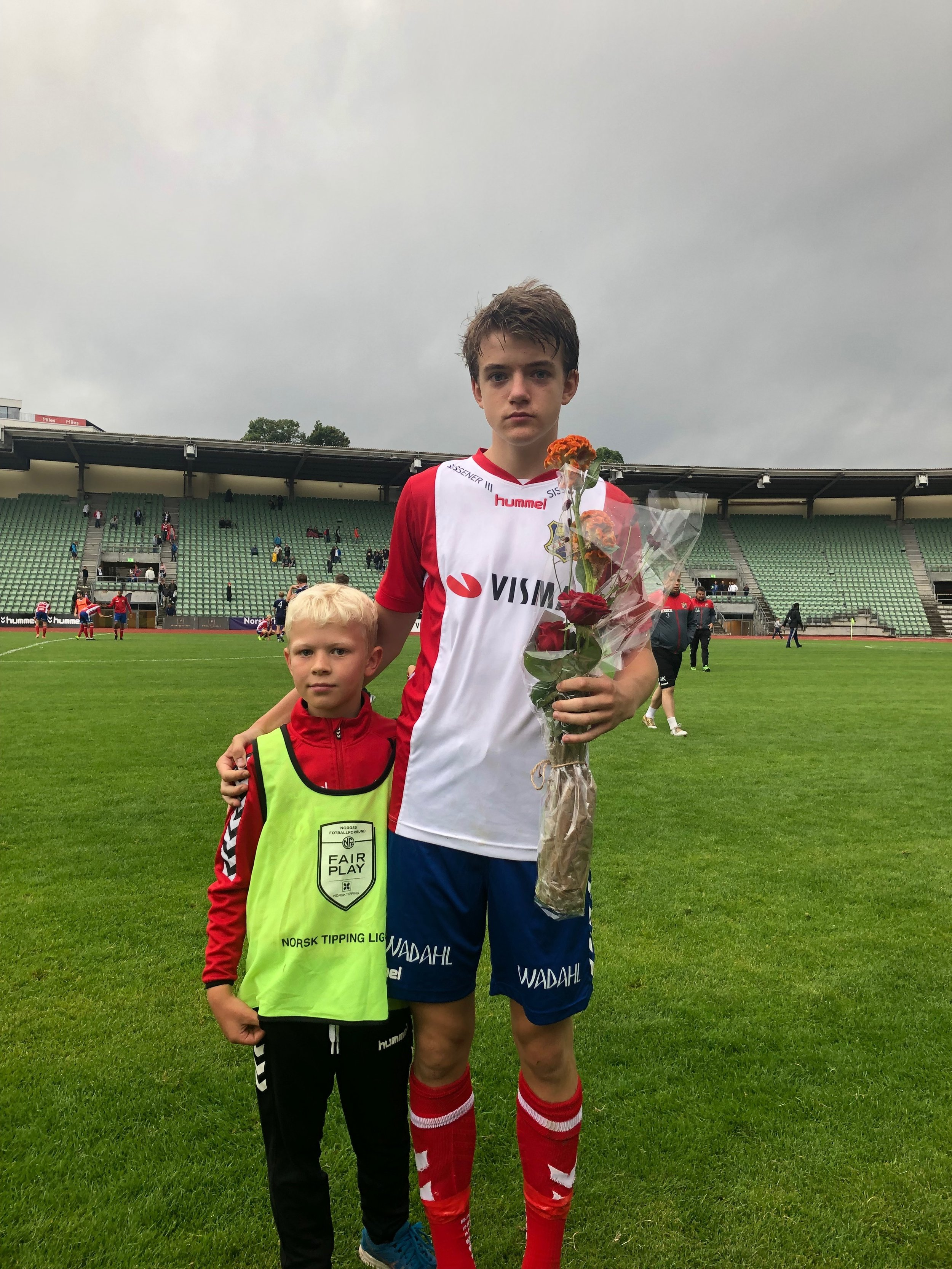 Junioren Daniel Schneider ble kåret til Lyn sin beste spiller mot Ready. Foto: Lyn1896