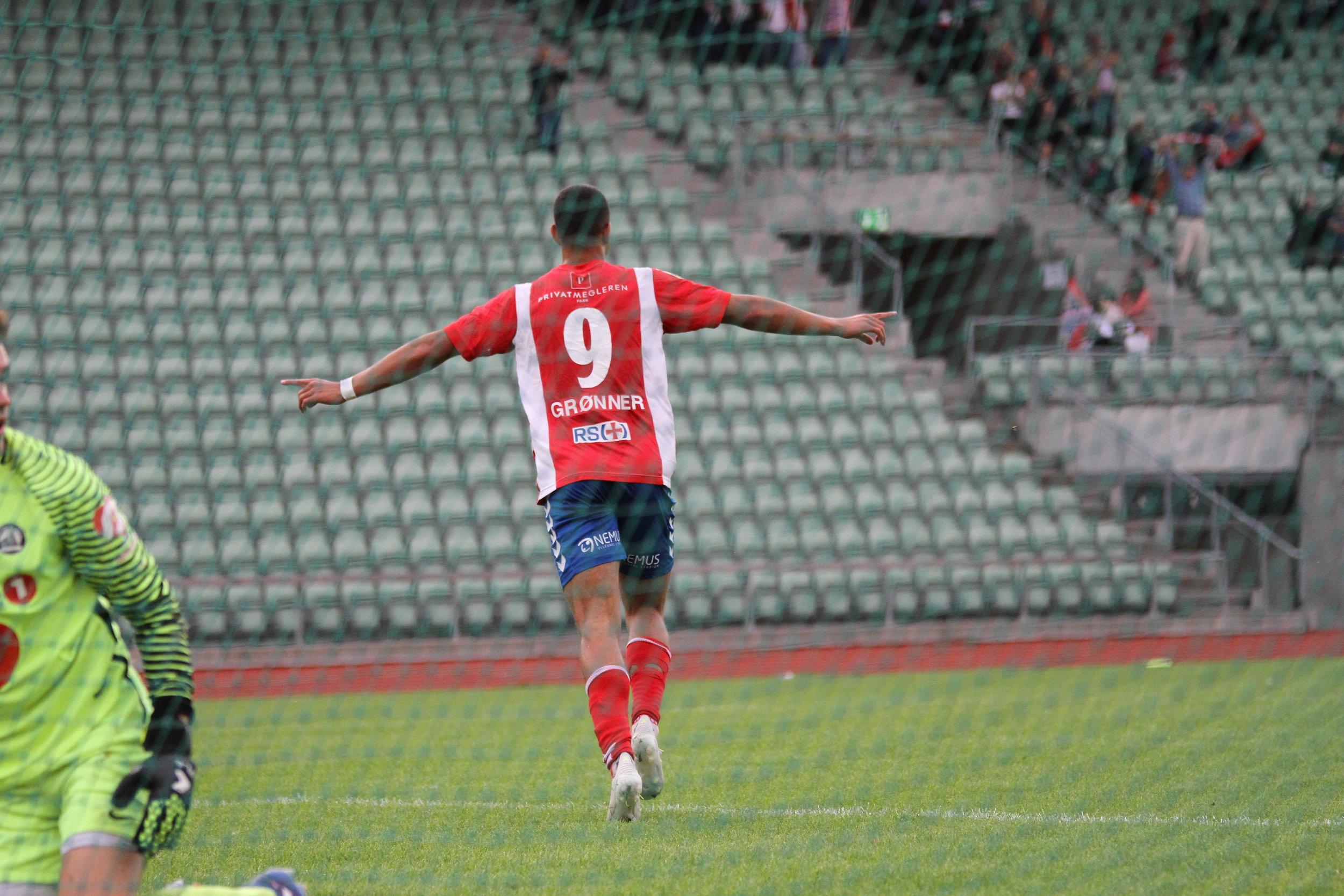 Emanuel Longe Grønner scoret to og hadde en assist sist. Kan han fortsette? Foto: Frank Halse