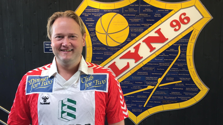 Morten Evensen gleder seg til å ta fatt på oppgaven som Kommersiell leder. Foto: Lyn 1896