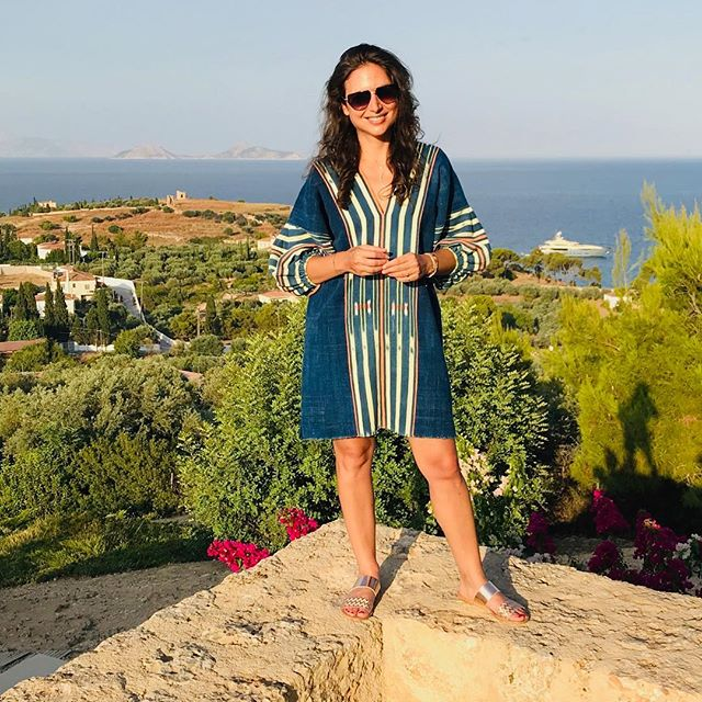 Francesca [Greece Summer 2019] 💙 #islandlife #aroundtheworld #adventure #lowtidedress