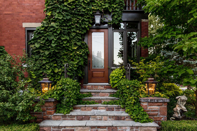 Photograph of a doorstep