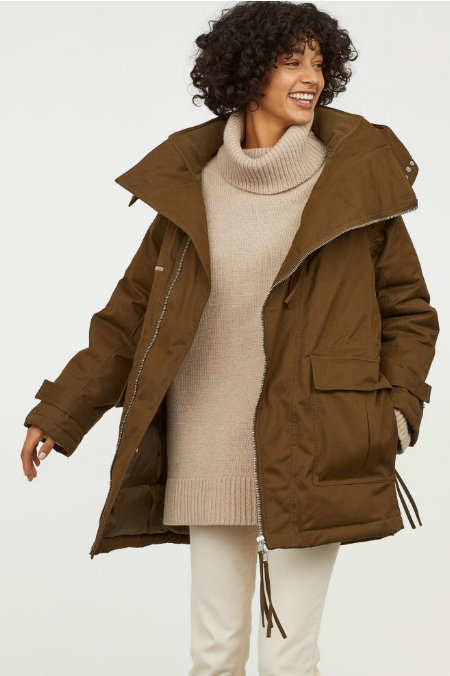 LOVE this color so much…and just how oversized it is! MAJOR WANT!