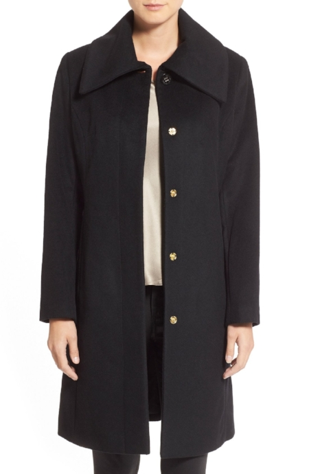 Perfect dressy coat for the holidays! So Classic!