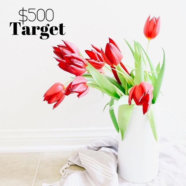 I've teamed up with some amazing accounts to offer one of you $500 to TARGET! . 🌷TO ENTER:   Like this photo, then head to @millennial_giveaways & follow all the accounts they are FOLLOWING!   Only takes 30 seconds! 🌷BONUS ENTRY:   Tag a few friends who would love to have this in the comments below! . Ends 4/26 at 6pm PST/9pm EST. The winner will be announced on @millennial_giveaways within 24 hours & will have 24 hours to claim. This is not sponsored or endorsed by Instagram. Must be 18 years or older to enter. @millennialgiveawaysignup DM for info! . 🌷GOOD LUCK! 🌷 . . . #targetmama #targetdoesitagain #targetmom #targetstyle #targetdeals #targetfinds #targetforthewin #momcommunity #momstuff