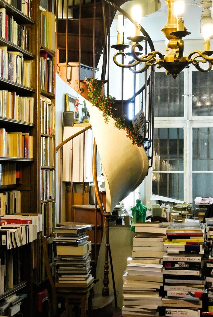 Librairie, passage Verdeau