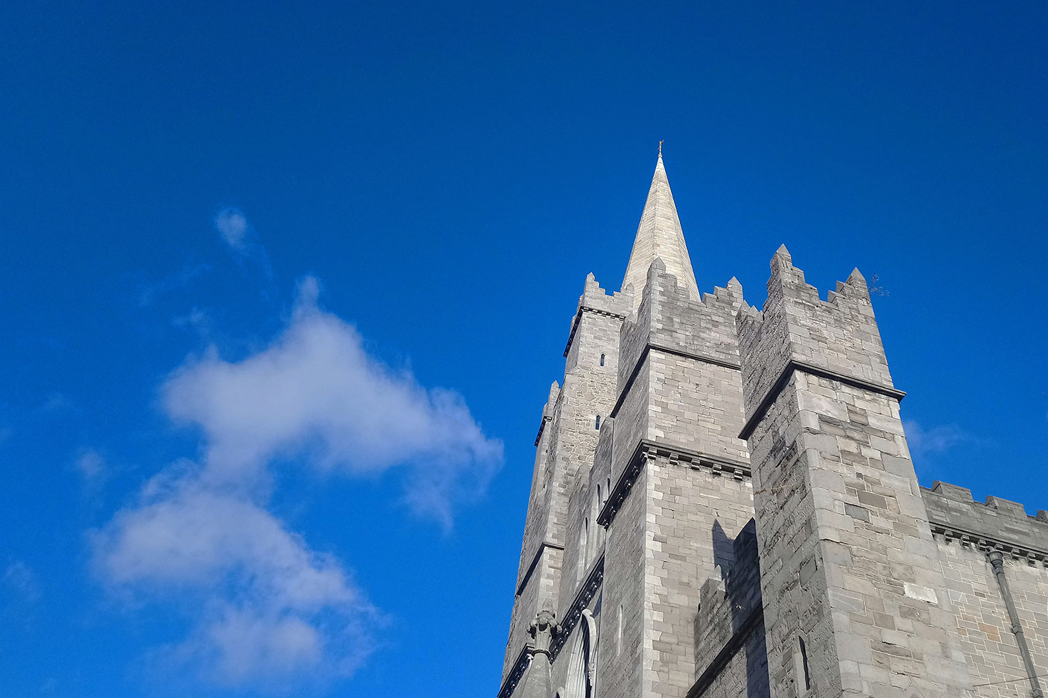 St Patrick's Cathedral - Shining a light on the Church of Ireland's National Cathedral with new visitor interpretation.