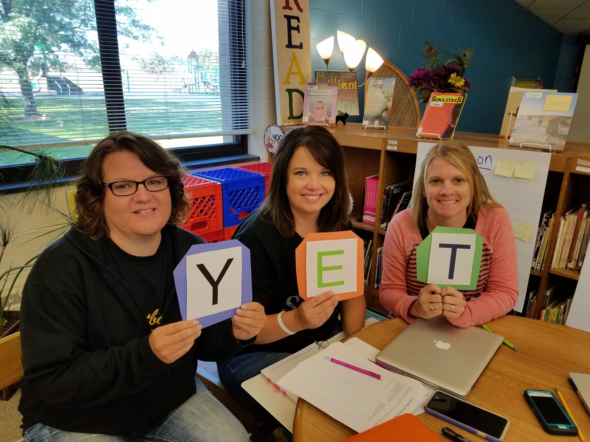 L & M Second Grade Team:  Kristen Brant, Brooke Morrison, Laura Harned