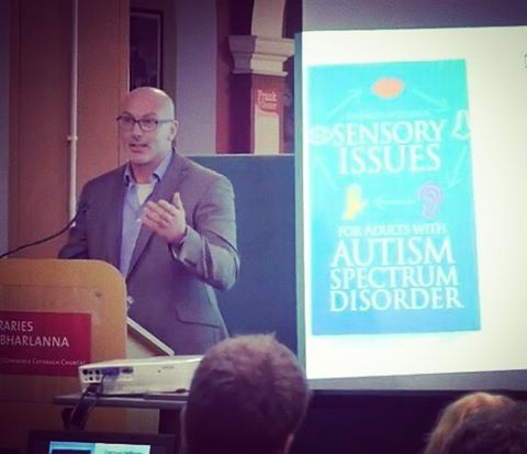 Diarmuid Heffernan (author extraordinaire) speaking about his book 'Sensory Issues for Adults with Autism Spectrum Disorder'