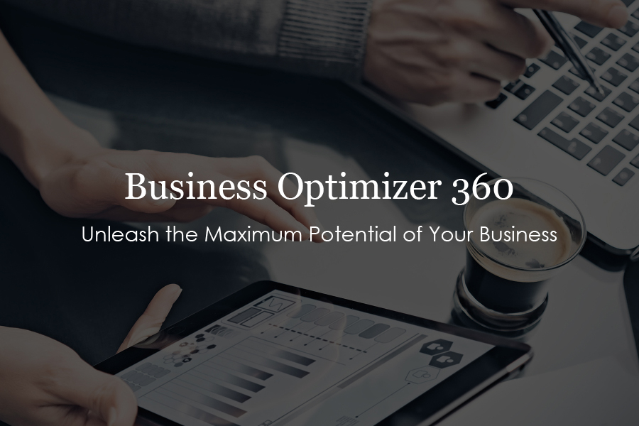 Business Optimizer 360   $5000.   In-Depth Strategy Session for Multiple 7-Figure Businesses.