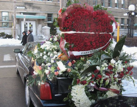 Vito Rizzuto 's hearse arrangement