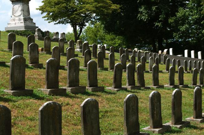 Cave Hill Cemetery  Louisville, Kentucky
