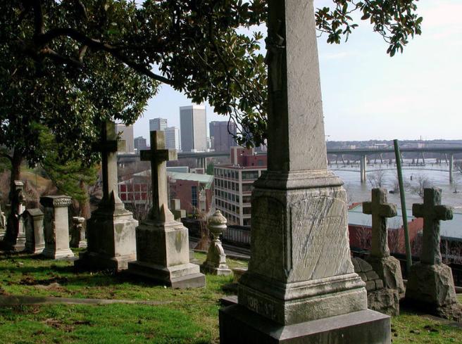 Hollywood Cemetery  Richmond, Virginia
