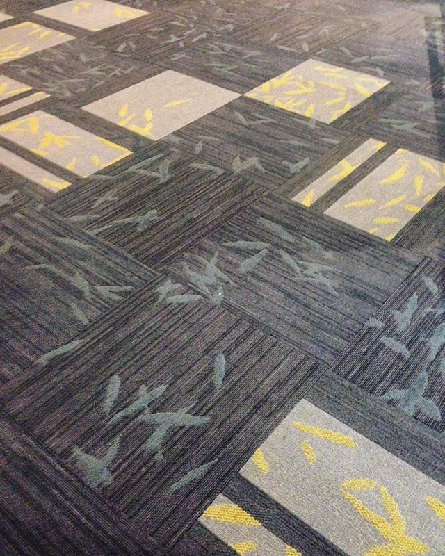 😎✌🏼the feeling when you're at an event and see carpets that you sold years ago still looks like new! #shawcontractgroup #custommade #mattkollektion #tretumab #cradletocradle