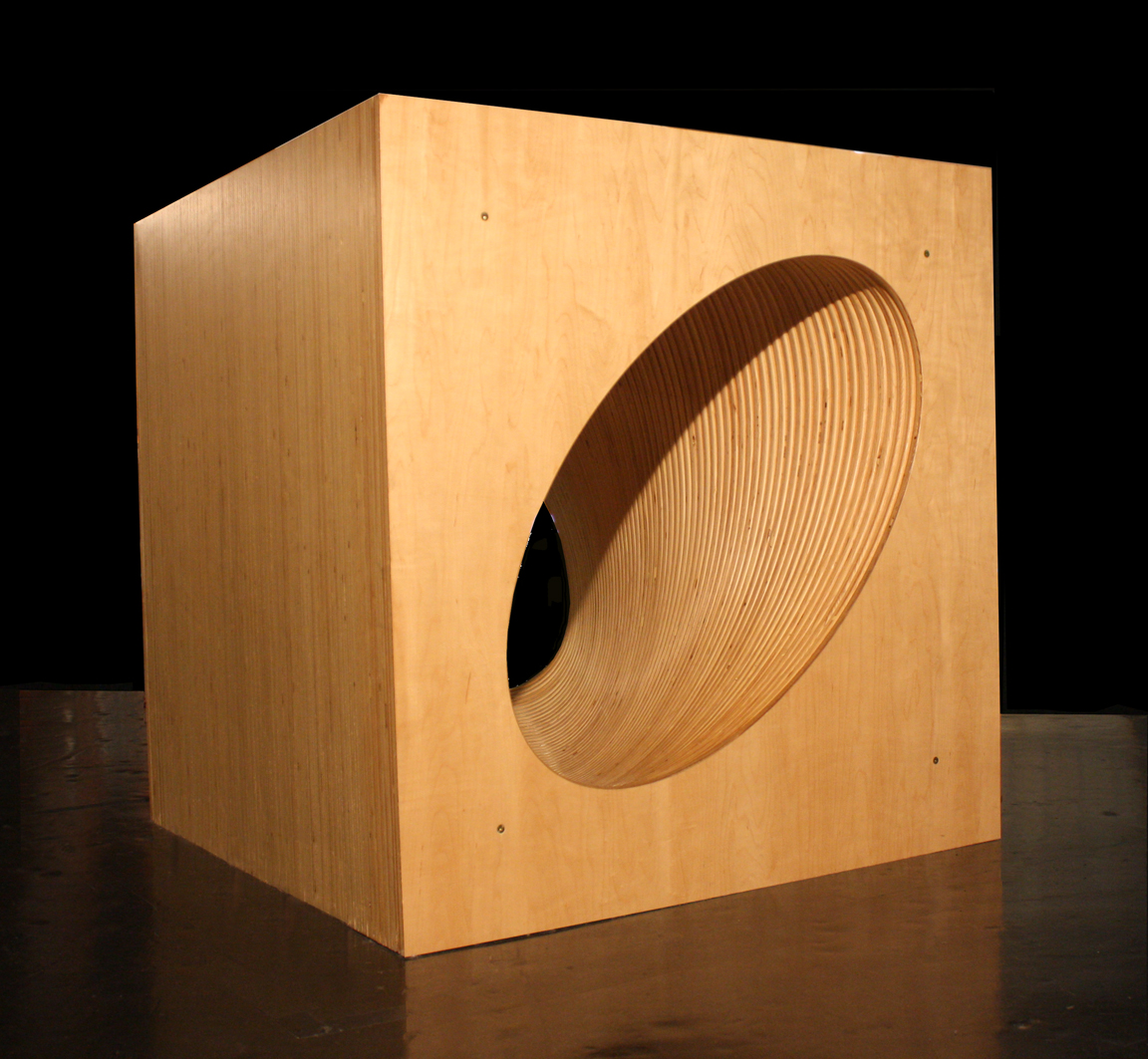 Rotating Ellipses Cube
