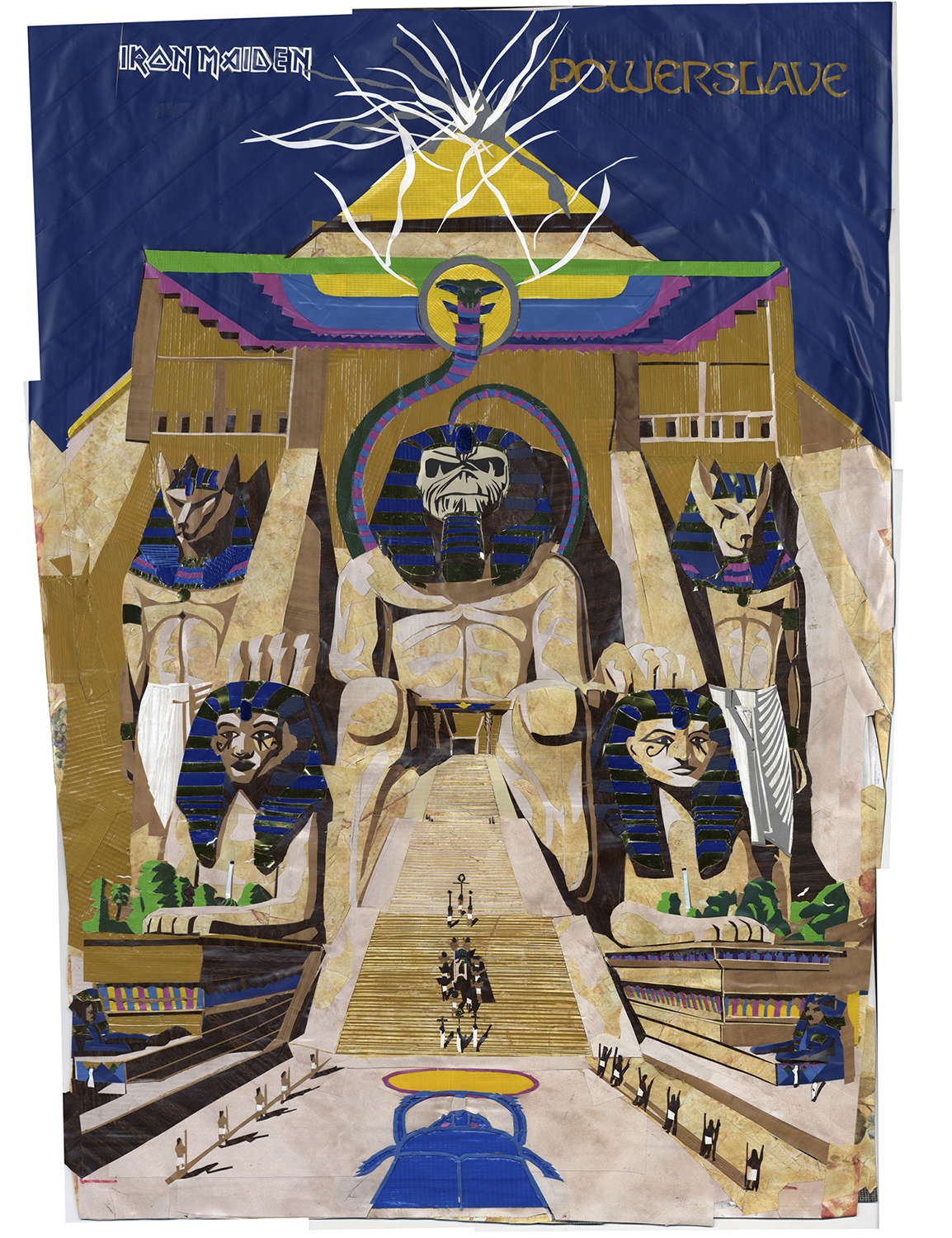 Powerslave: For Anton Maiden, R.I.P.