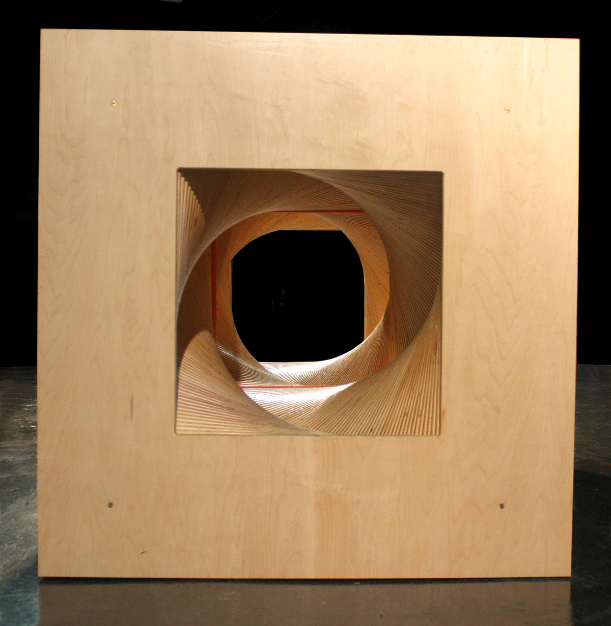 Rotating Squares Tunnel