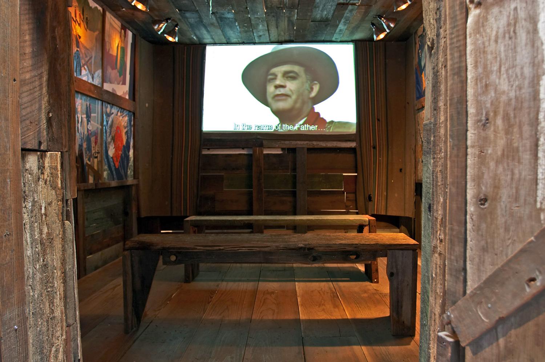 Django Chapel, interior