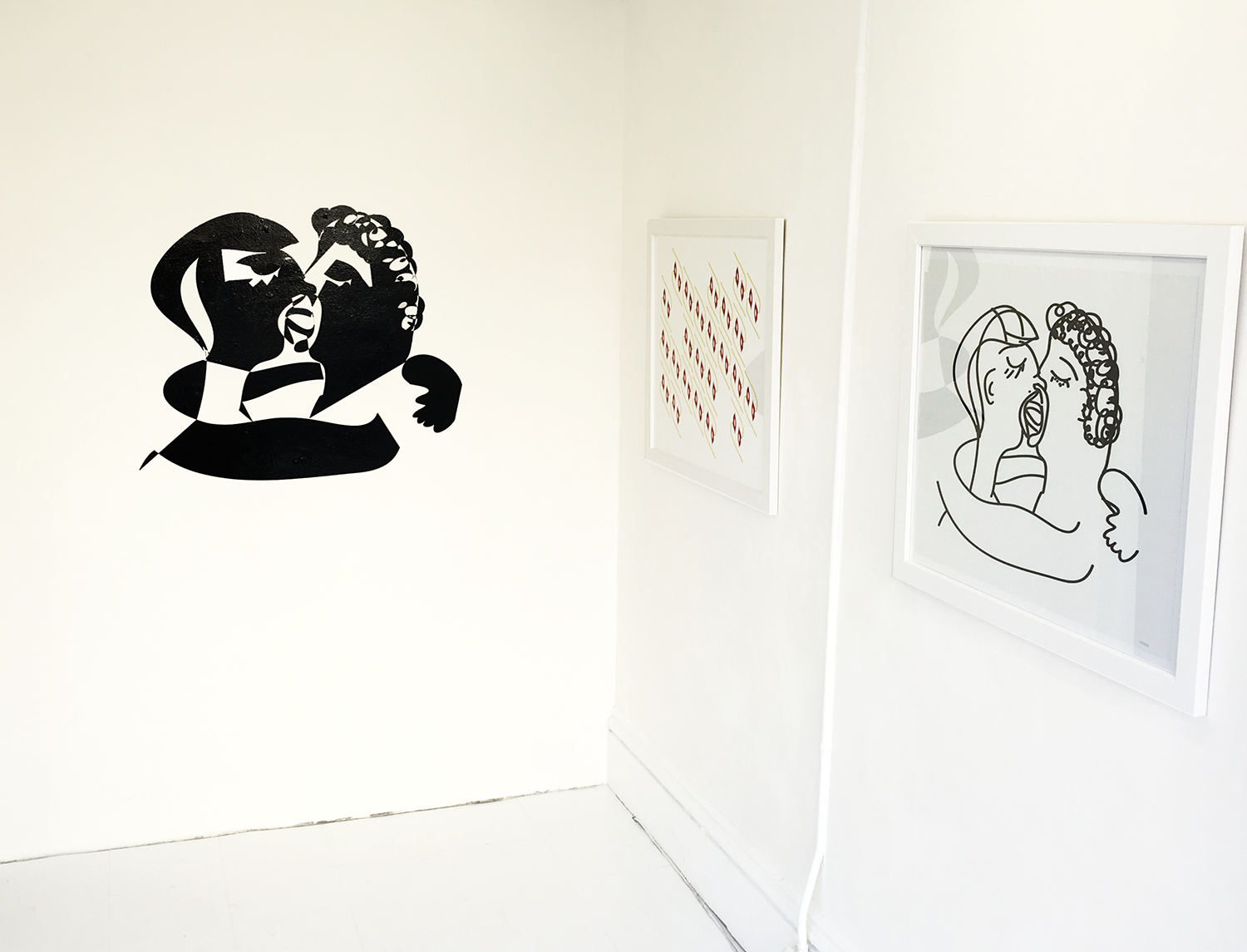 Never Gonna Let You Go, installation view