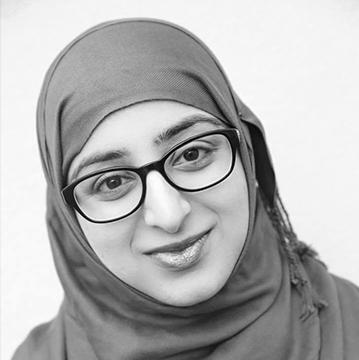 "Raisah Ahmed  Writer and director  ""Tightrope""Cross platform installation"