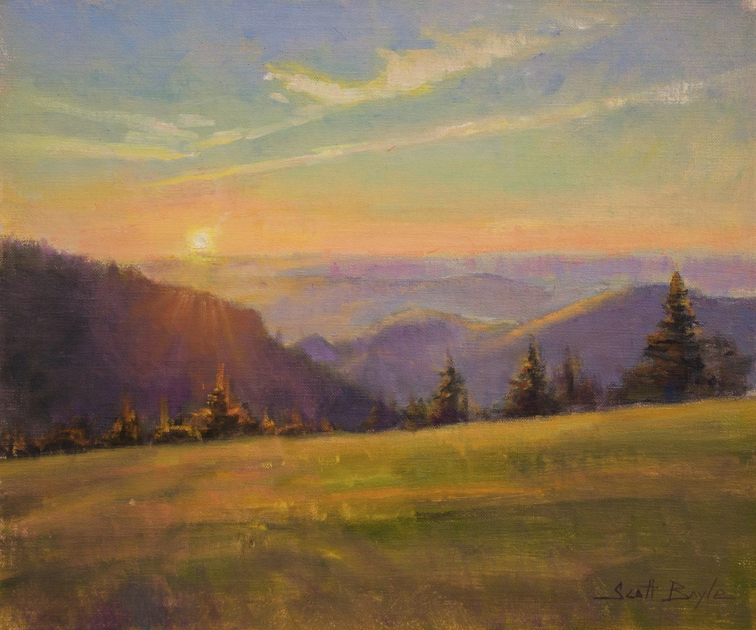 """Roan Sunset"""