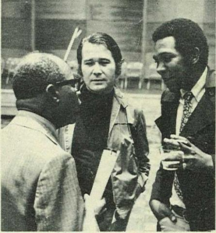 Carman with Louis Armstrong