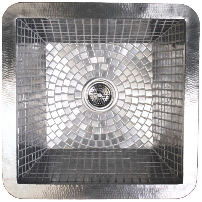 small square mosaic -