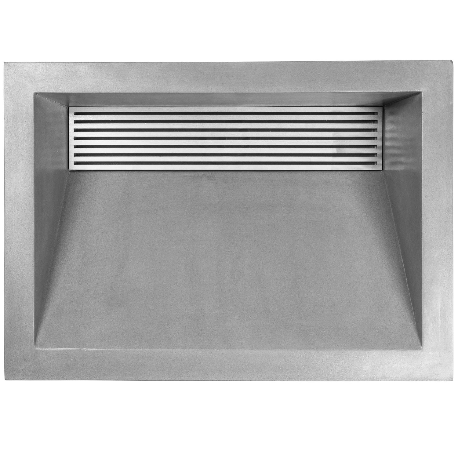 Copy of AC01DI G Shown with optional GC001 Square Bars Grate SS (Satin Stainless Steel)