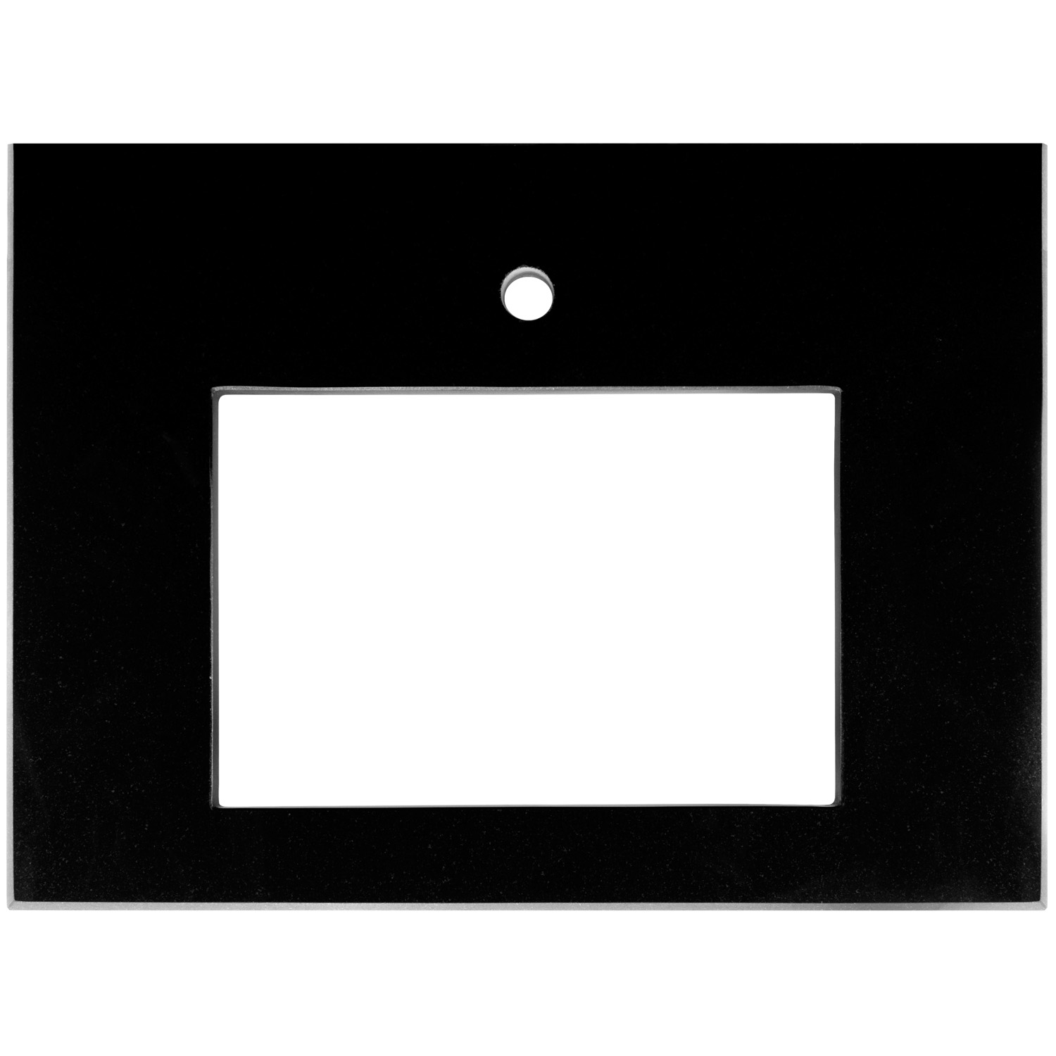 "VT30B-01 12""x18"" Sink Cutout w/ one faucet hole"