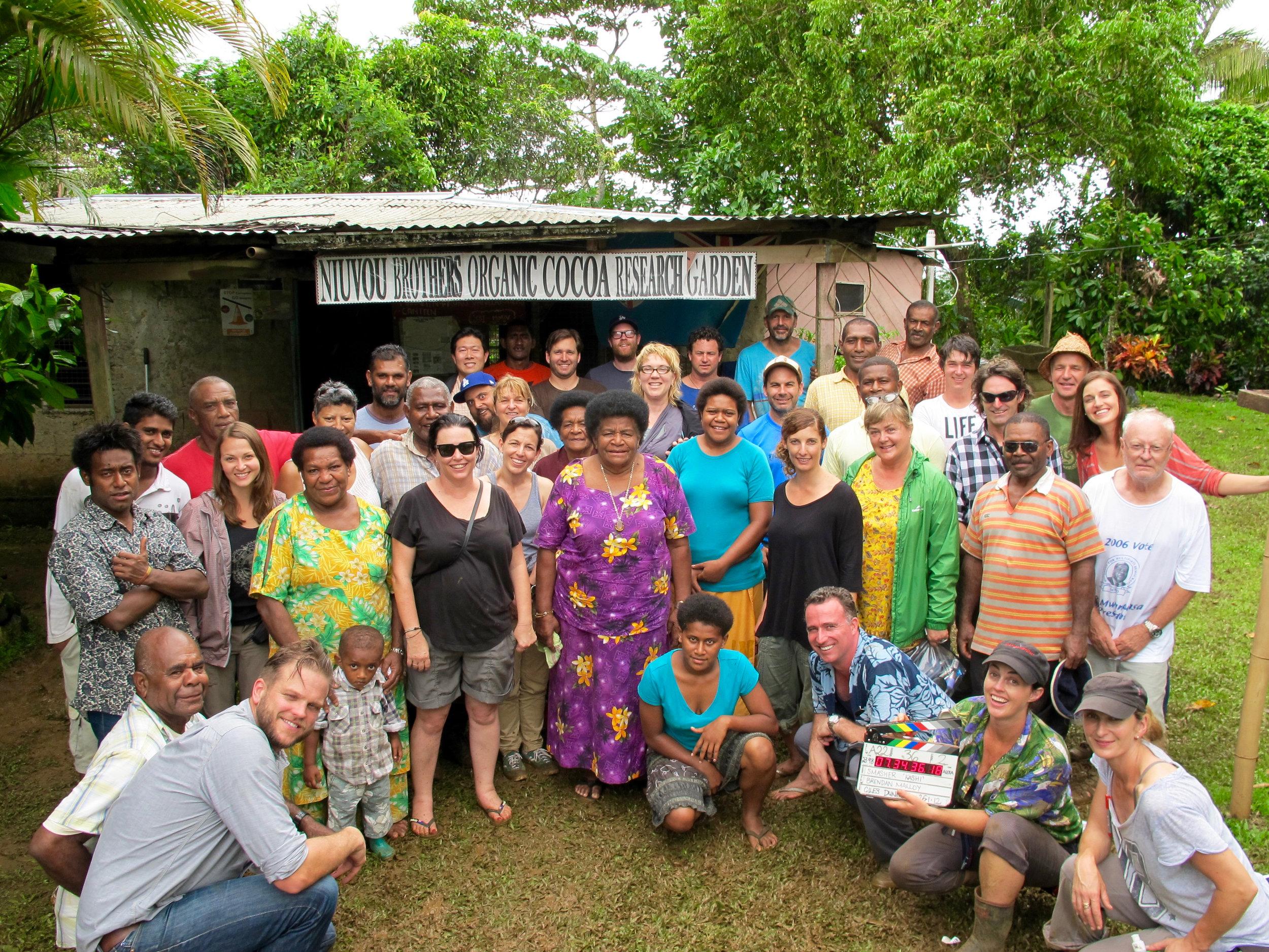 Niuvou Bros. Organic Cocoa Farm, Fiji