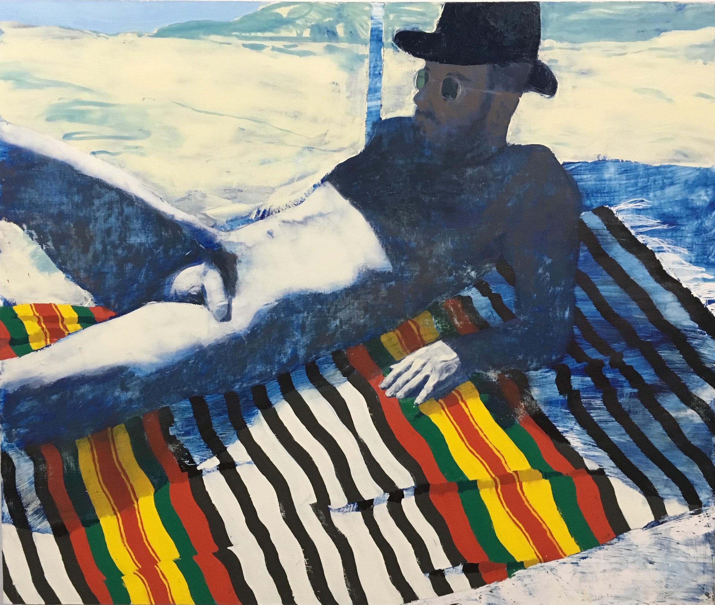 Doron Langberg, Mark on the Beach, 2016