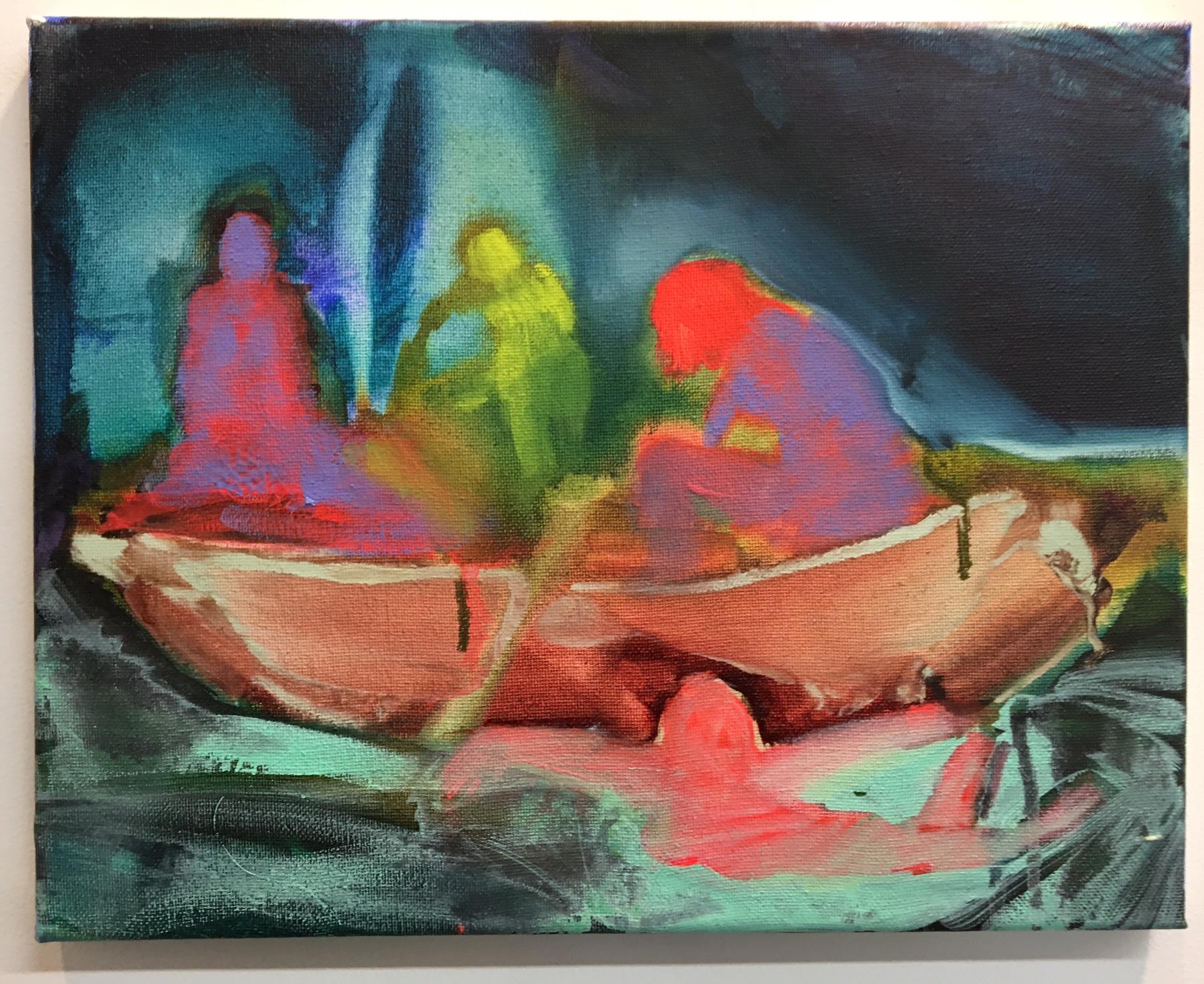 Elizabeth Glaessner, Boat ride, 2016