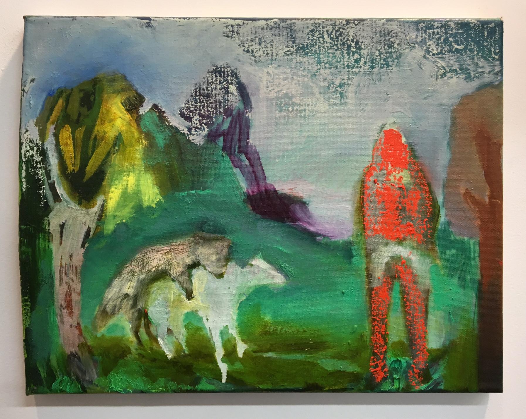 Elizabeth Glaessner, Dog on dog, 2016