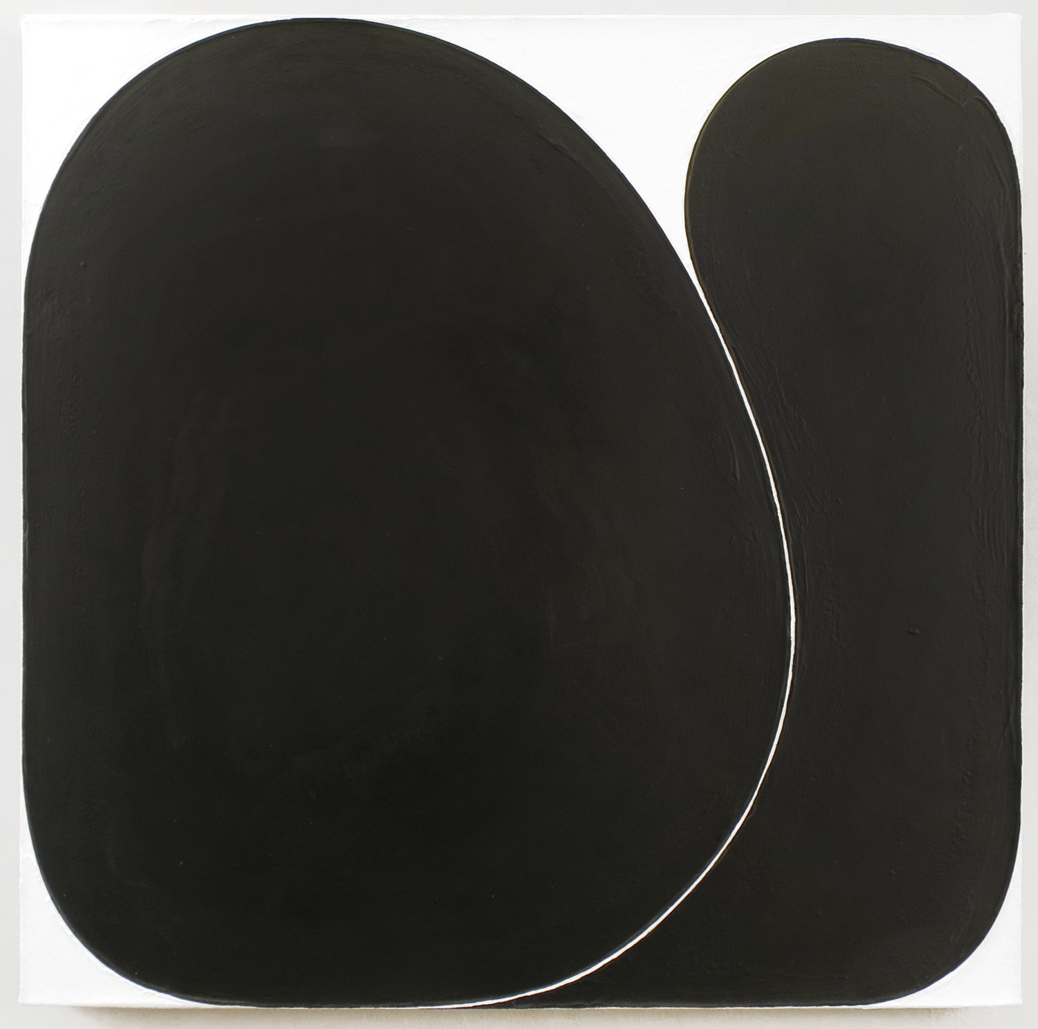 Copy of Gary Kuehn, Black Painting, 2016