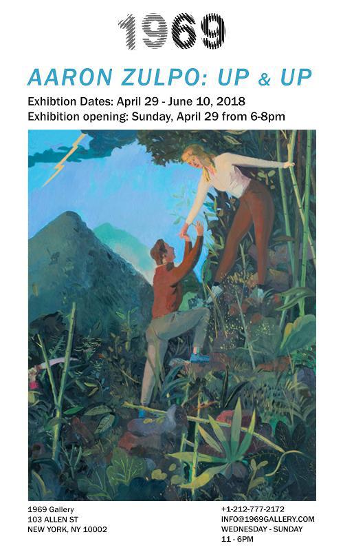 Aaron Zulpo:  Up & Up  Exhibition list PDF