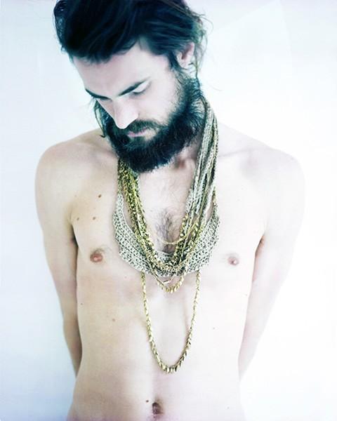 Jewelry by Céline Alexis Buehrer. Photos by Marie Taillefer.