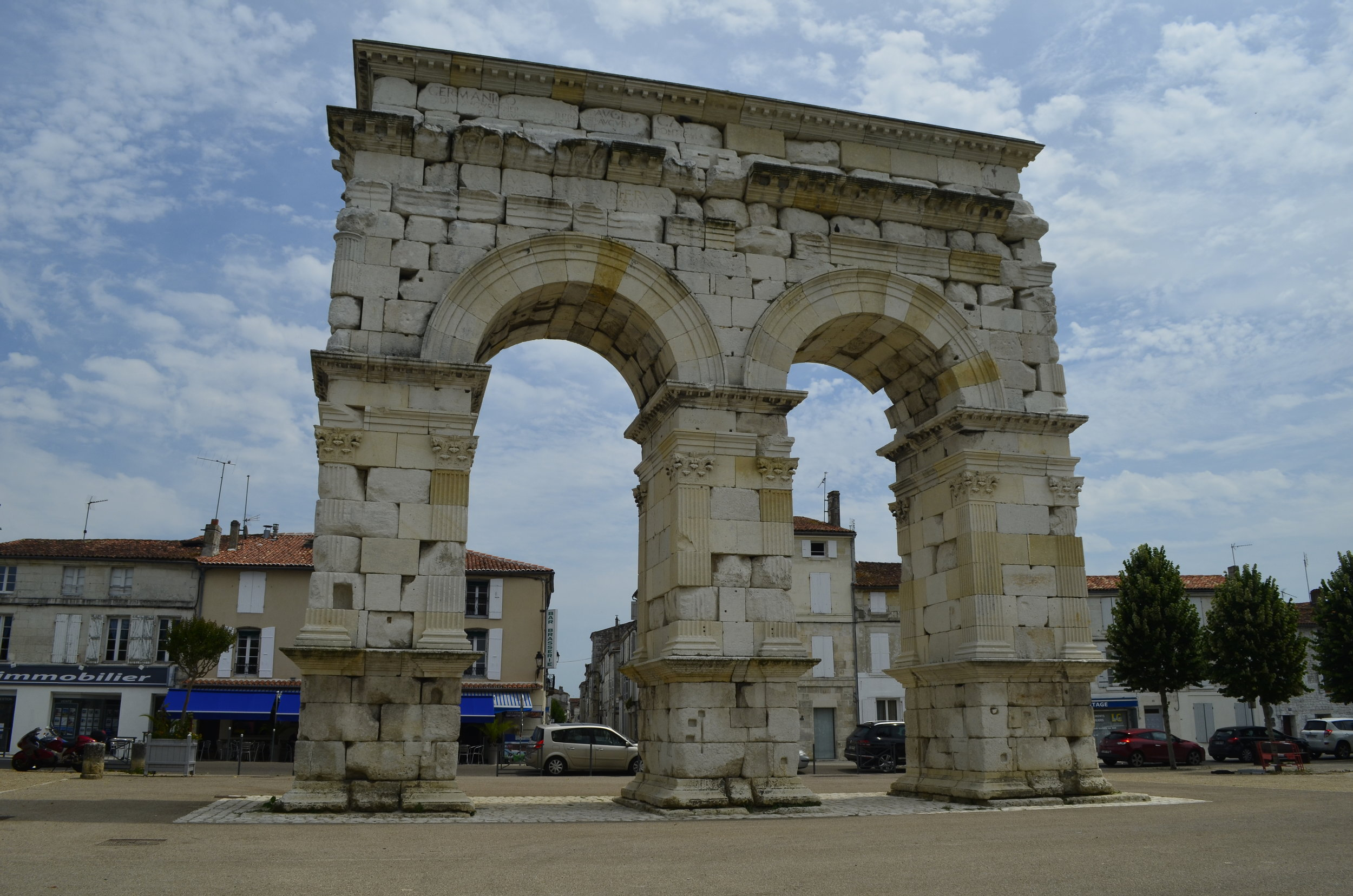 The Germanic Arch in Saintes.