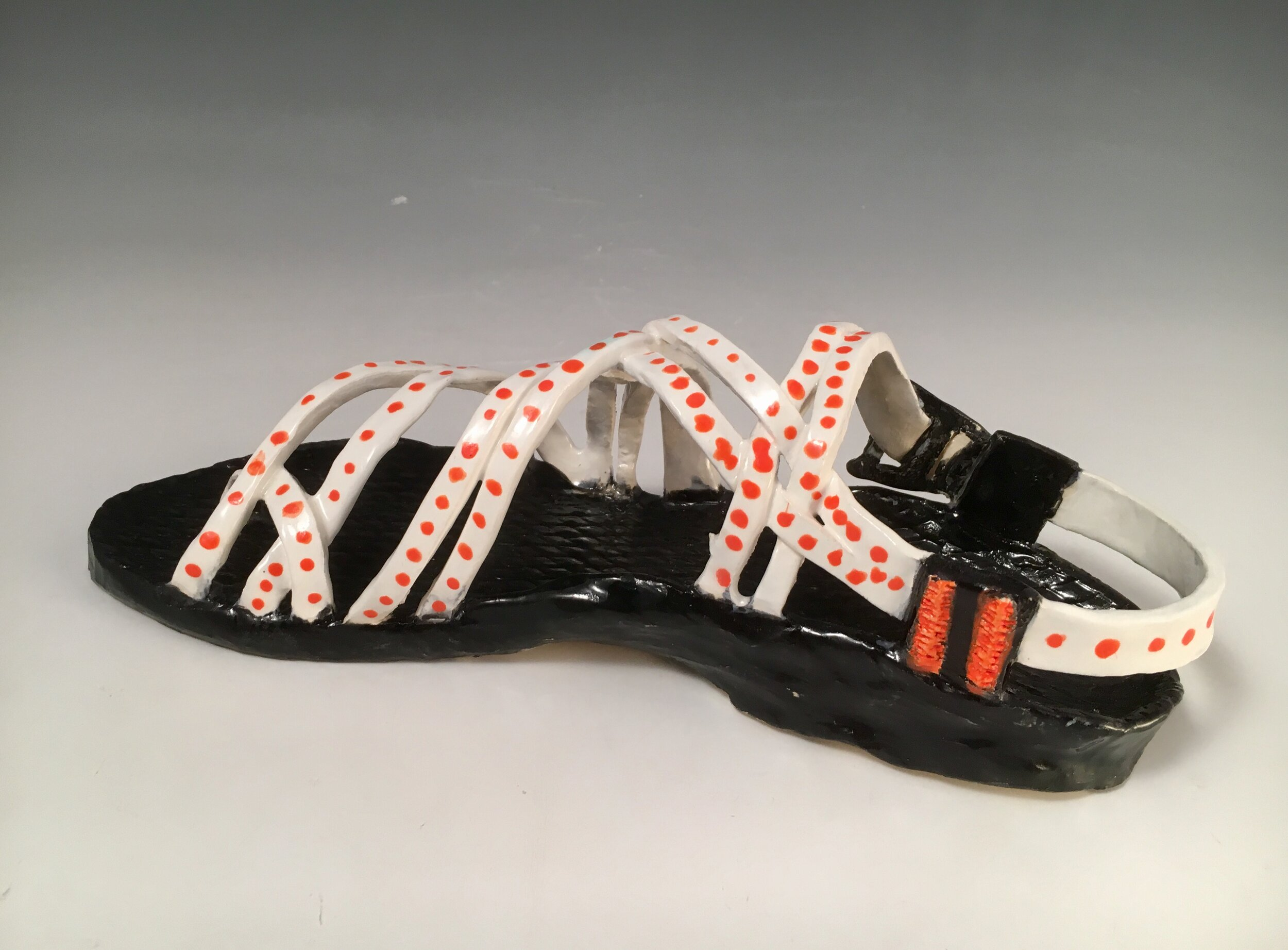 Beginning Ceramics  Shoe Project, Low fire