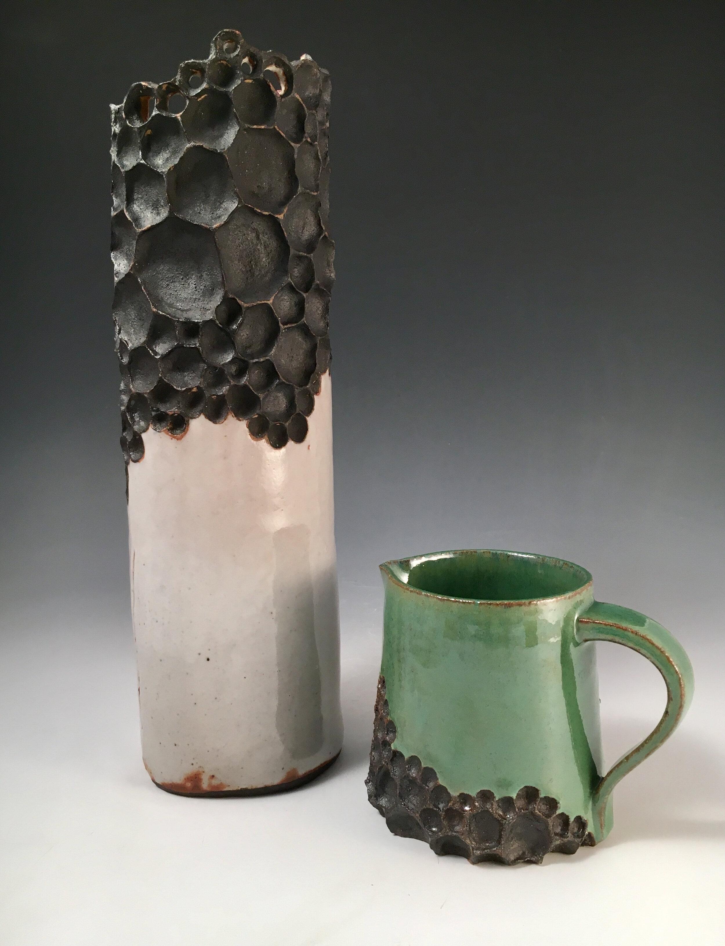 Beginning Ceramics  Vase project, High fire