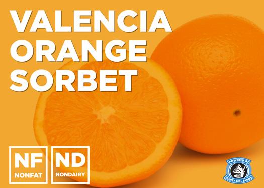 Valencia Orange Sorbet