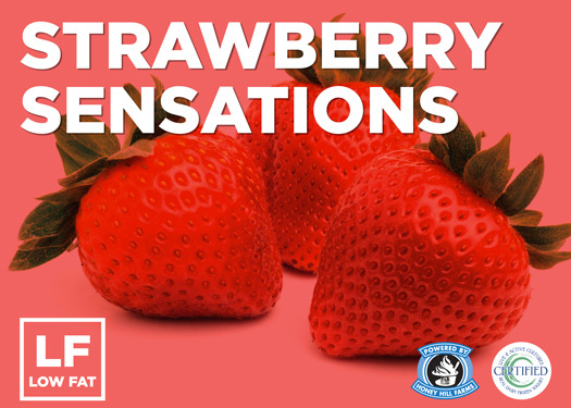 Strawberry Sensations Frozen Yogurt