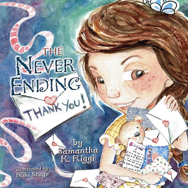 AVAILABLE NOW! - The Never Ending Thank You is beautifully illustrated by artist Niki Stage and presents a lesson that's never too early to learn about the ins and outs of friendship and communication