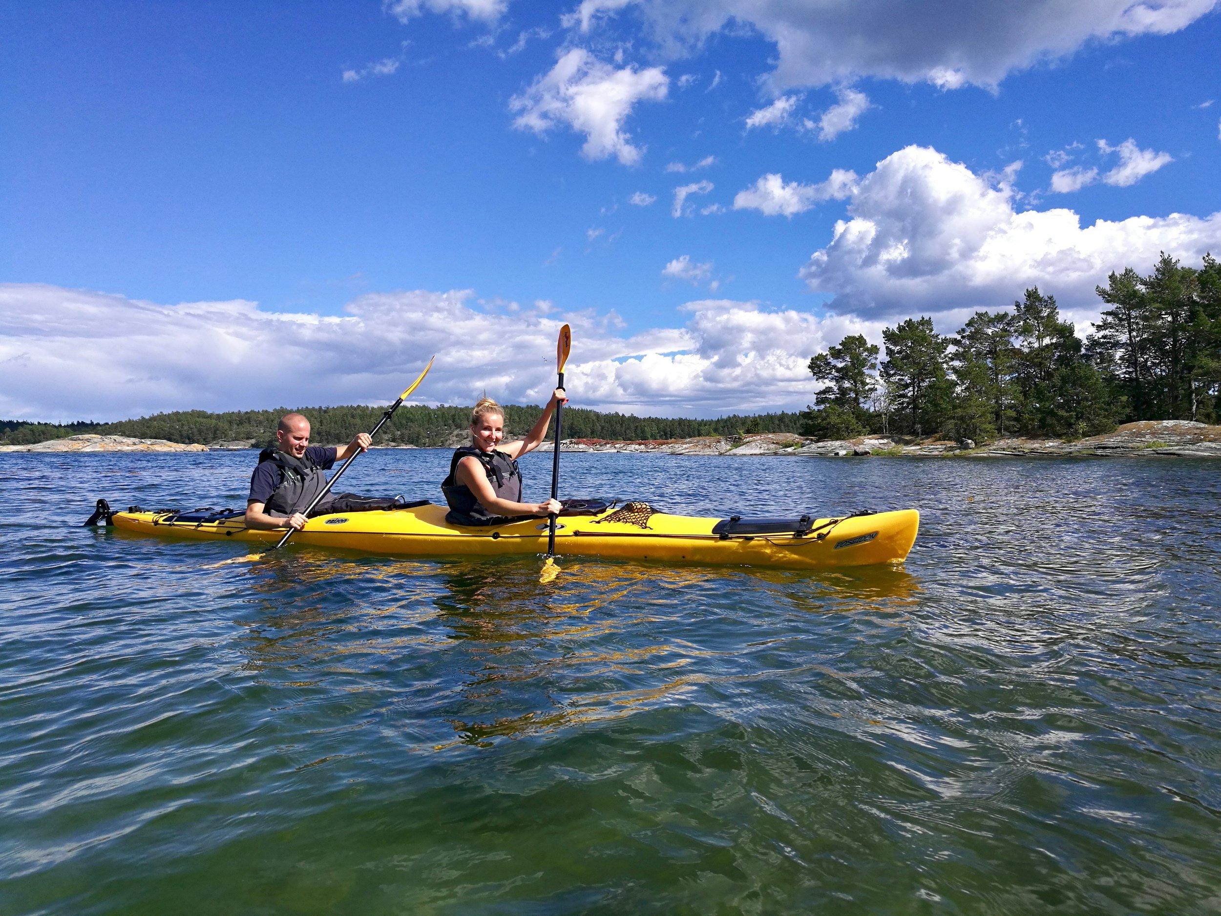 Stockholm Archipelago Kayaking 1 day